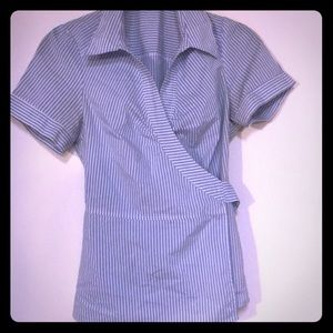 New Wrap top/blouse size medium